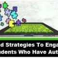 iPad Strategies to Engage Autism