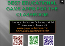 Best Educational game apps - image
