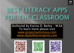 Best literacy apps - image