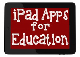 iPad apps for education tile
