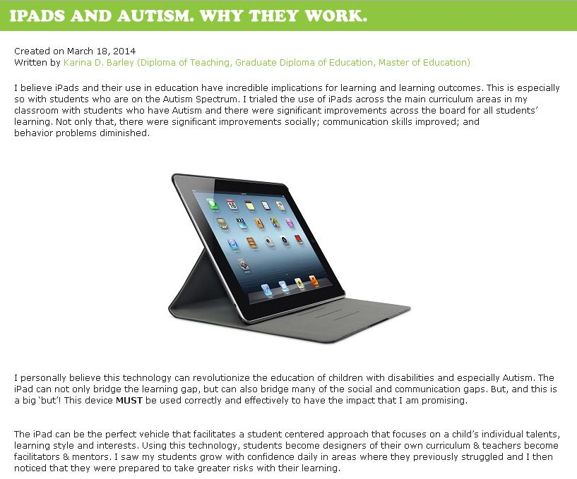 ipads CDC Blog intro