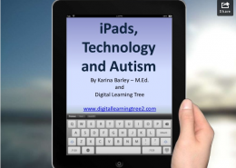 technology, ipads and autism - image